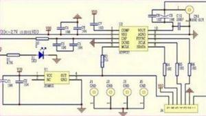 Small AD9833 board (schematic)