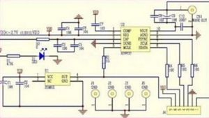 Small AD9833 board (schematic)