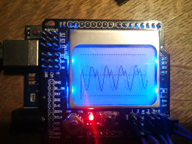 Single Channel Oscilloscope Using Arduino