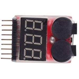 LiPo/Li-ion/LiMn/Li-Fe Battery Tester