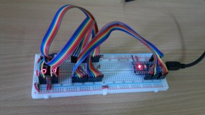 SL-1255-30 and Nano on breadboard #3