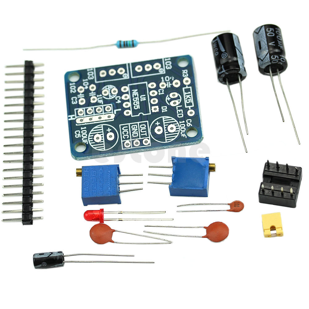 Sending Out The Right Signals Gr33nonline Adjustabledutycycle Squarewave Oscillator Circuit Diagram Ne555 Board Kit