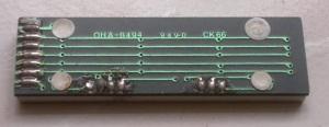 LED Bar Graph OHA8494 Back