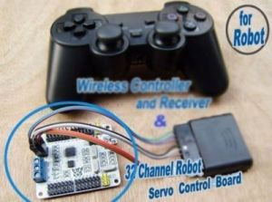 PS2 Controller Board showing Receiver