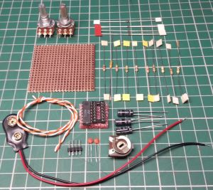 Square Sine and Triangle wave generator kit from CZ