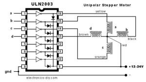 ULN2003 Schematic
