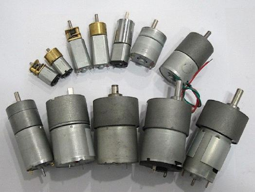 D.C. Geared Motors