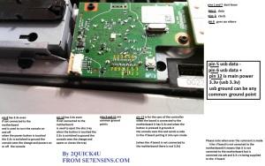 Slim XBox 360 RF pinout#1