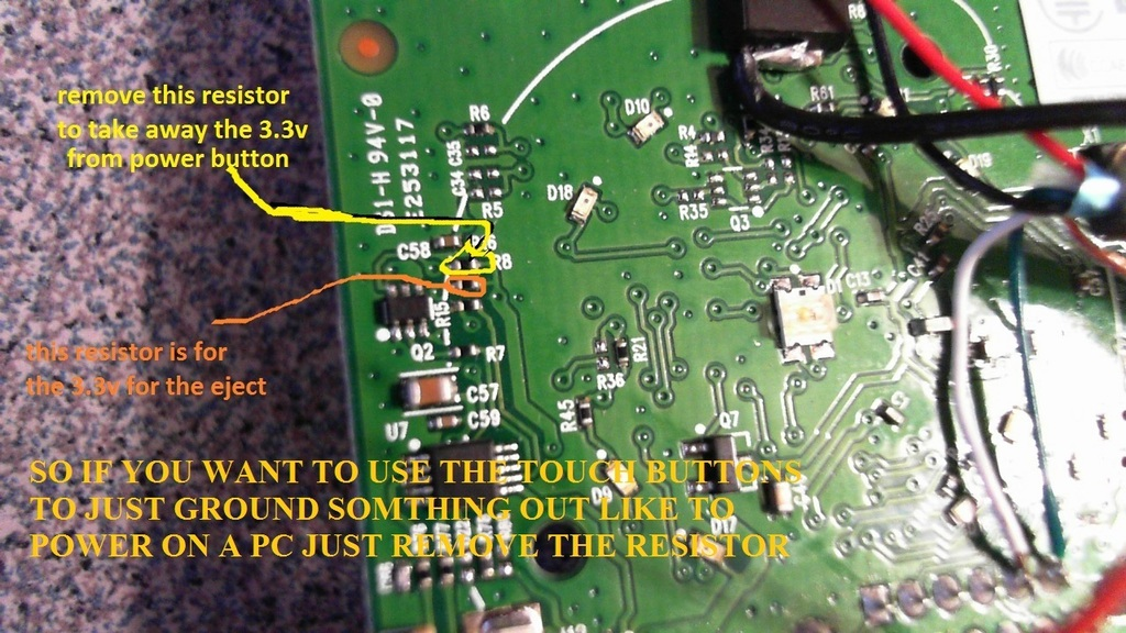 Make an xbox receiver from a rrod xbox 360 gr33nonline slim xbox 360 rf pinout2 ccuart