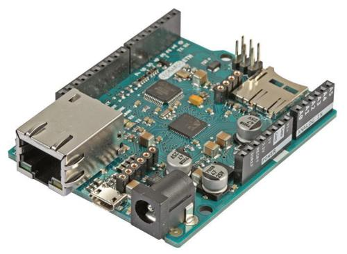 Arduino Ethernet w/o PoE with sockets for POE module