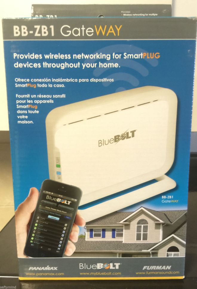 Panamax BB ZB1 Bluebolt ZigBee Wireless Ethernet Bridge