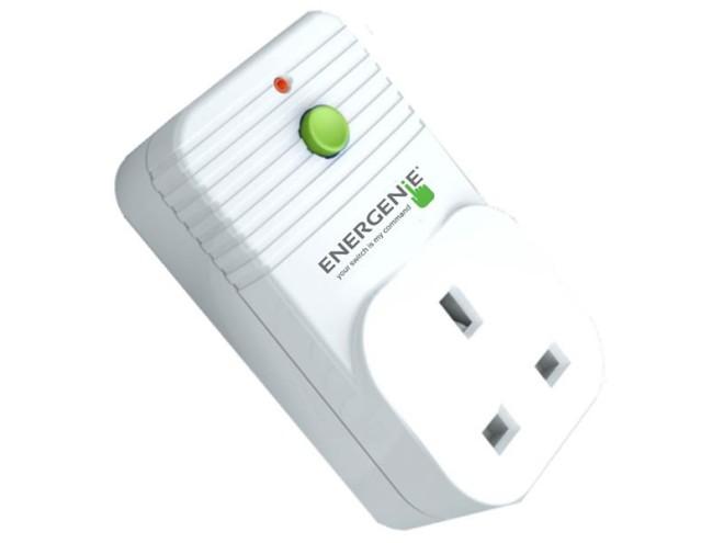 Pi-mote remote controlled socket