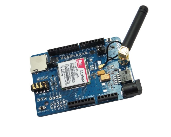 SIM900 GPRS Arduino Shield