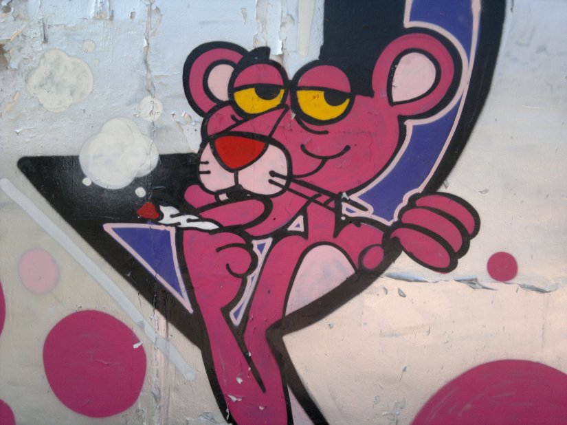 Graffiti around BKK