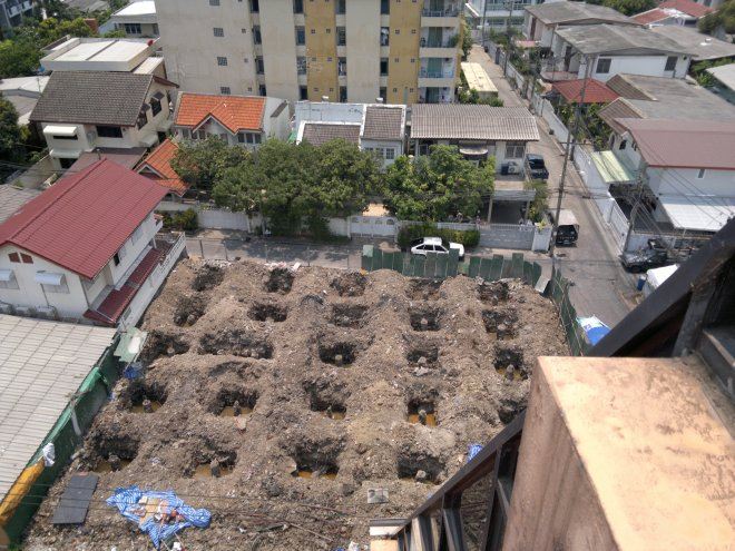 20160422 - Overhead view of South side