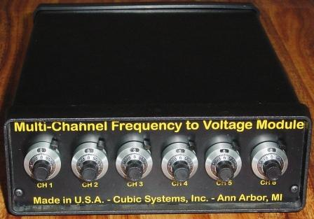 How does a frequency to voltage converter work?