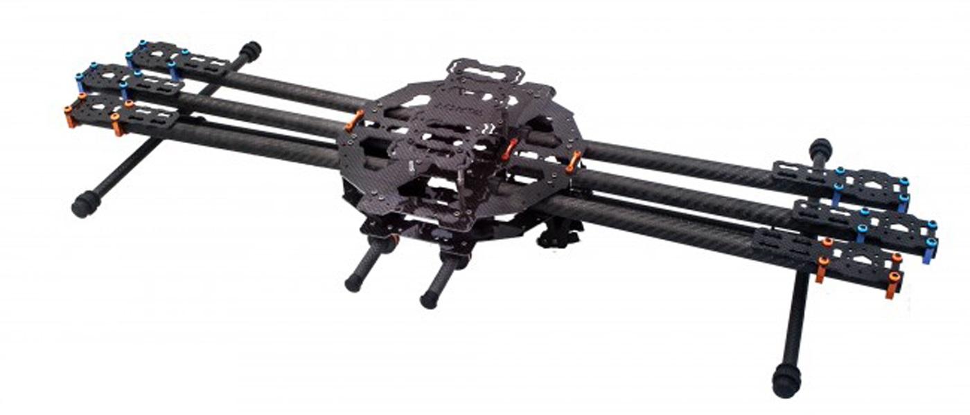 2 Pairs T-Series 13*5.5 Carbon Fiber Propeller CW//CCW For Tarot IRON MAN FY680