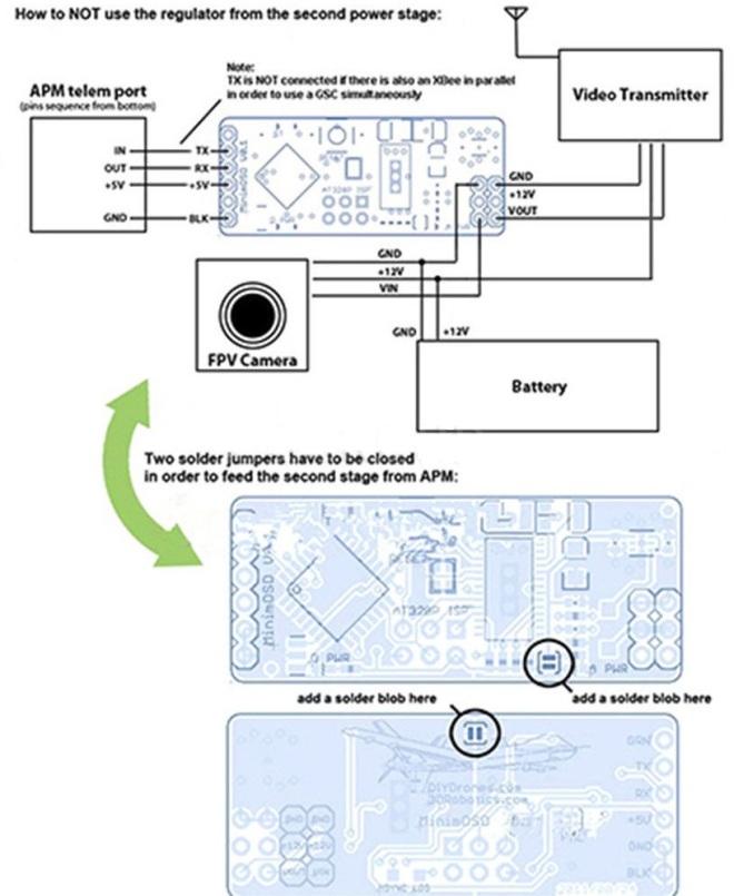 minimOSD schematic