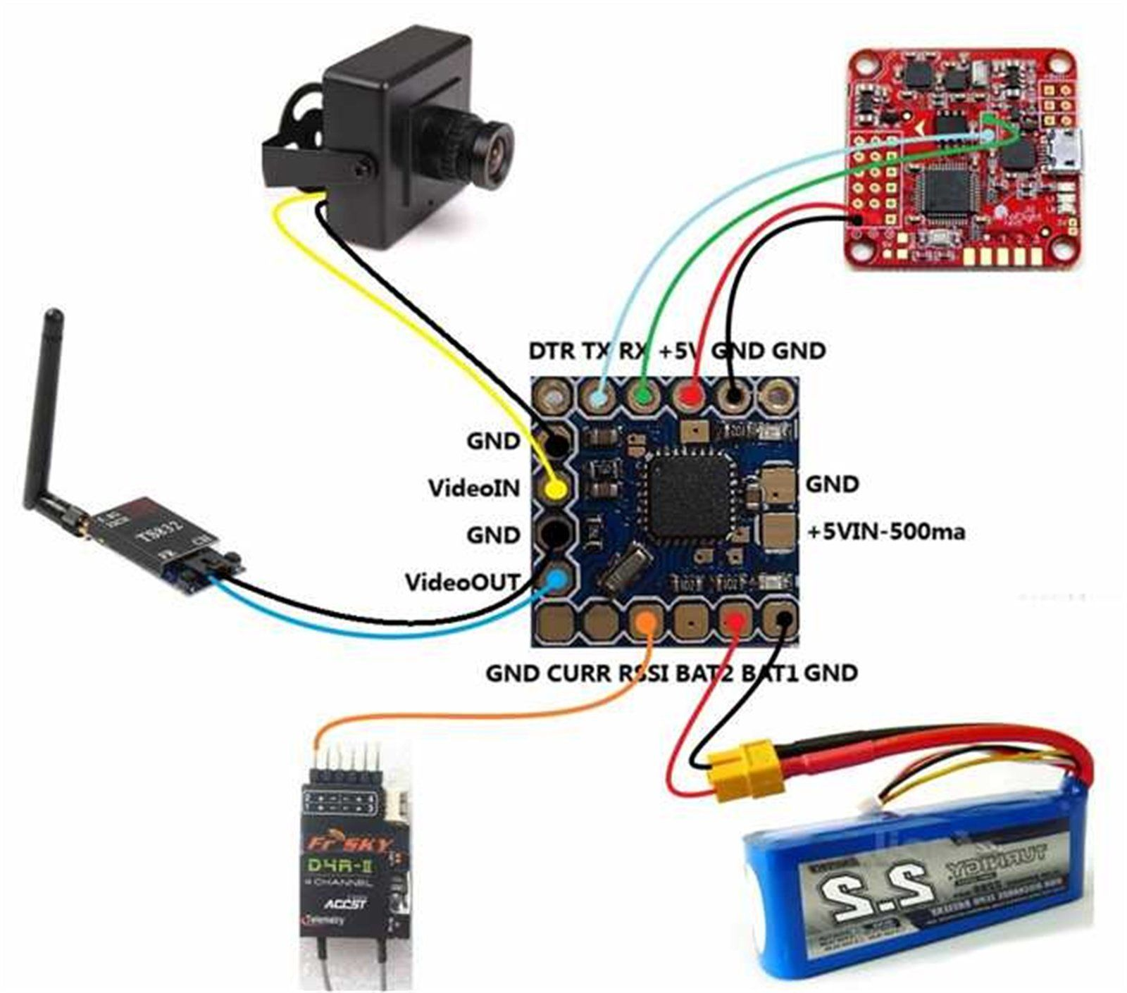 miniosd?w=660 fpv and osd gr33nonline ts832 transmitter wiring diagram at fashall.co