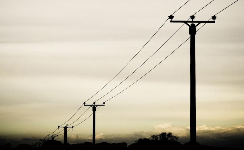 Overhead power linescompensation
