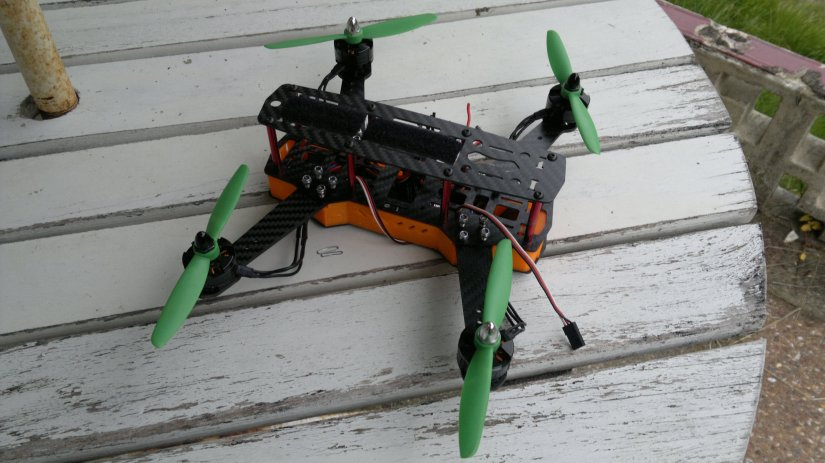 Quadcopter build log