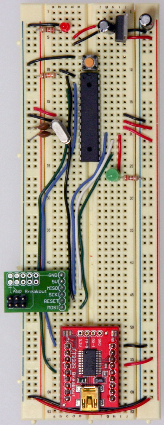 Arduino Standalone with Pin 16 incorrectly wired