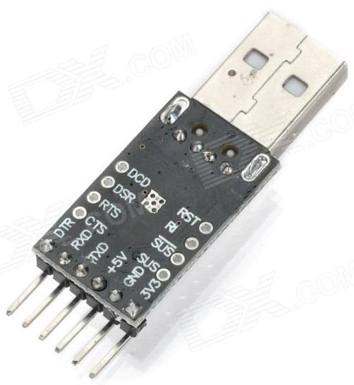 USB-TTL Interface board using the CP2102