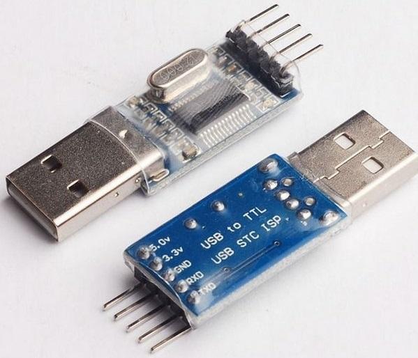 USB-TTL Interface board using the PL2303