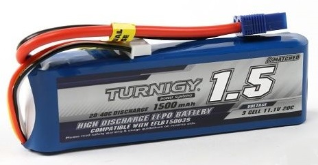 Turnigy LiPo 1500 mAh 20C