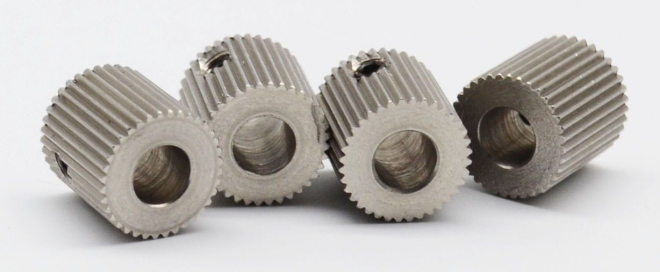38T 5 mm bore extruder gear