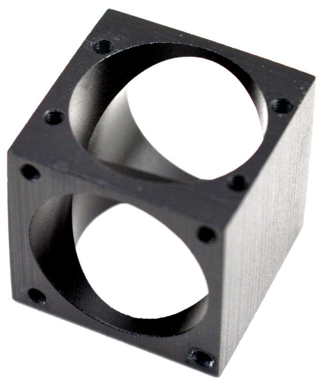 Kossel Aluminium Cube
