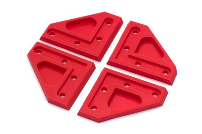 4x Rear bracket (PLA)