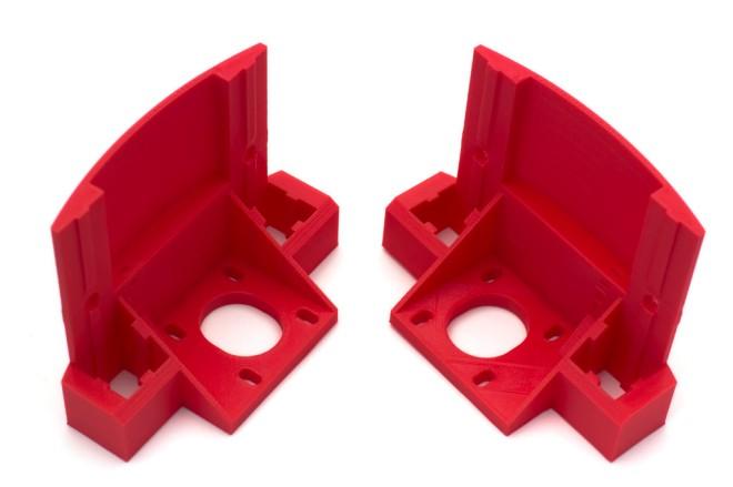 2x Z motor holders - Reinforced version (PLA)
