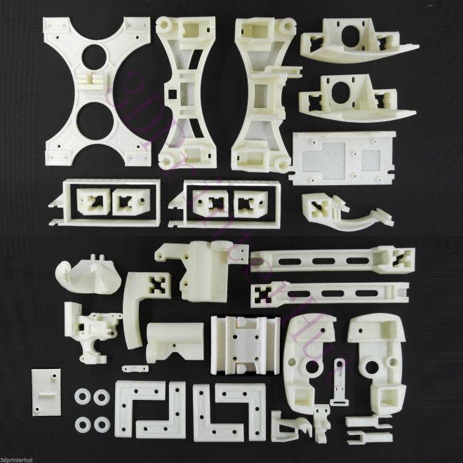 Wilson II Printed parts from 3DPrinterHut