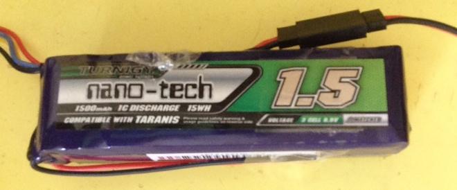 Nano-Tech LiFe 3S battery