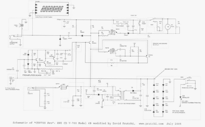 CDV 700 Pro schematic