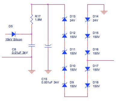 Zener stack schematic