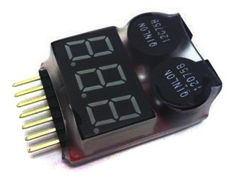 LiPo voltage tester/alarm