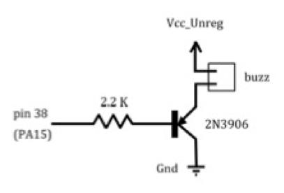CC3D - buzzer circuit