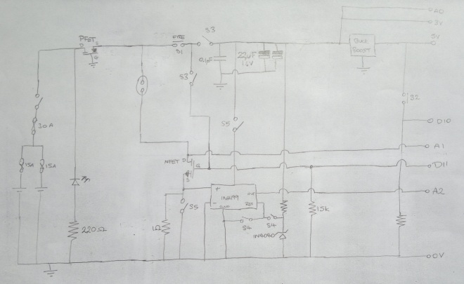 GhettoVaper Schematic - No Overvoltage Protection
