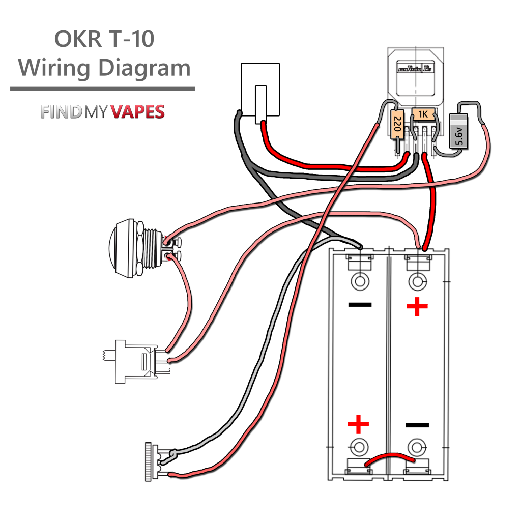 Vaping Box Mods Gr33nonline Raptor Box Mod Wiring-Diagram Okr Mod Box  Wiring Diagram