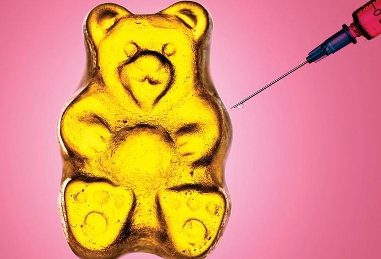 Making gummy bears