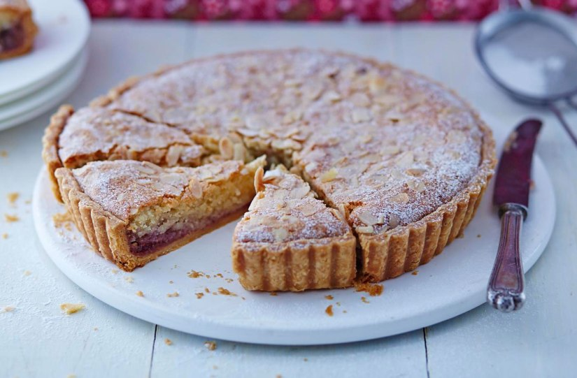 Making Bakewell tarteJuice