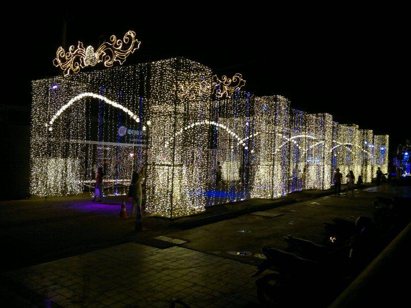 Ratchada Xmas lights2017