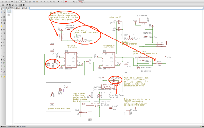 Atari Punk - Basic Mods Highlighted