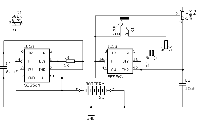 Atari Punk Console schematic - with output referenced to Vcc