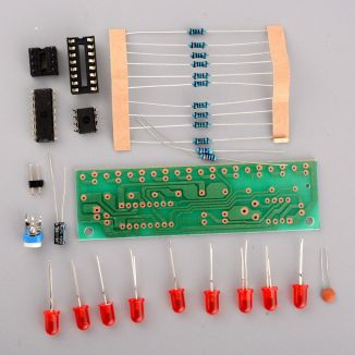 Decade sequencer from eBay - DIP kit