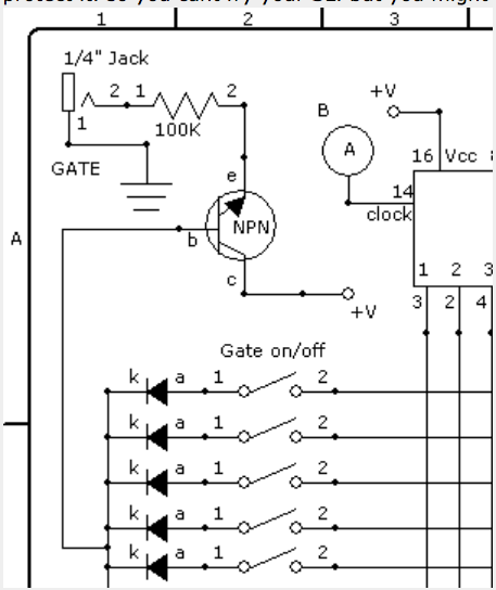Sequencer to SL gate input