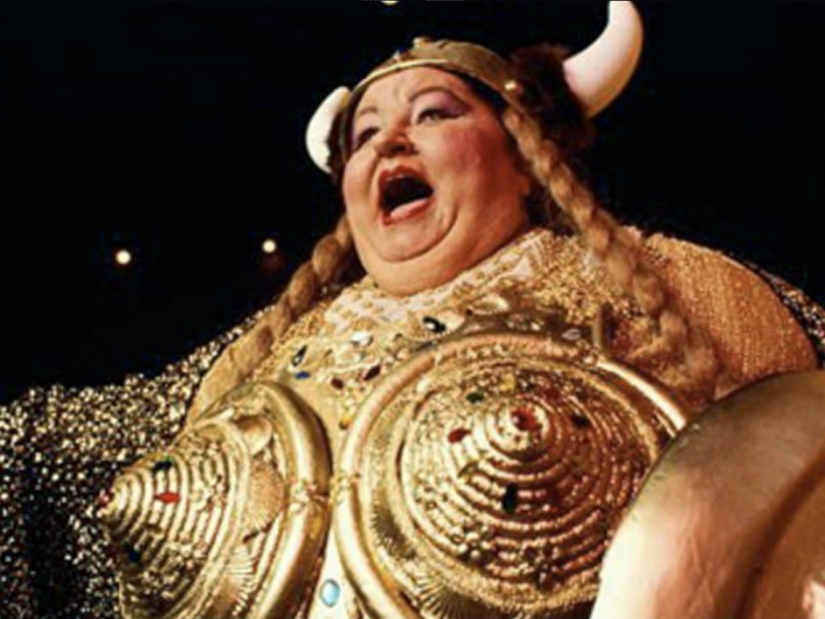 The fat ladysings…