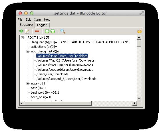bencode editor mac